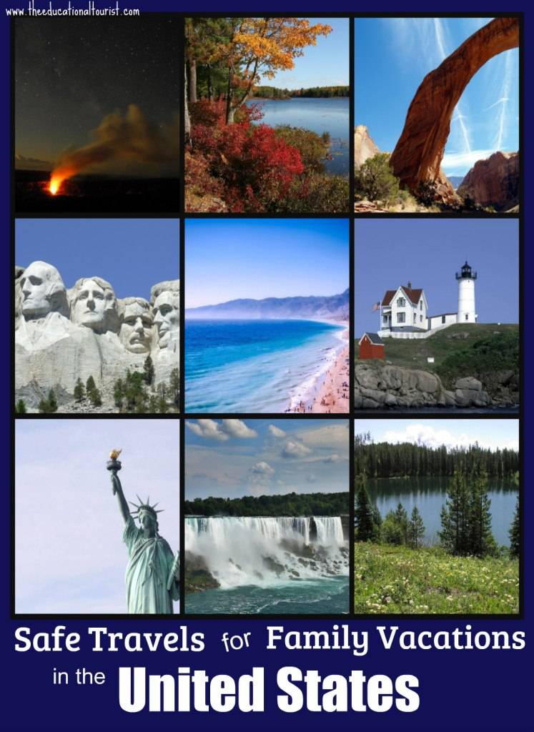 collage of photos of the United States