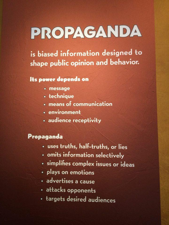 Propaganda Sherwin Miller Jewish Museum