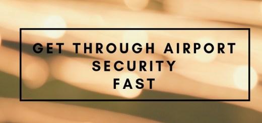 light streaks, how to get through airport security, tSA