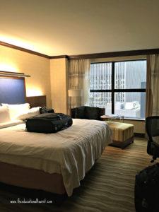 hotel room Renaissance hotel Times Square, Renaissance Hotel Times Square New York, www.theeducationaltourist.com
