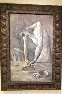 Woman Ironing by Picasso, Guggenheim Tips, www.theeducationaltourist.com