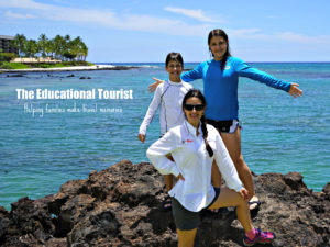 The Educational Tourist and kids in Hawaii, Traveling with Teens, www.theeducationaltourist.com