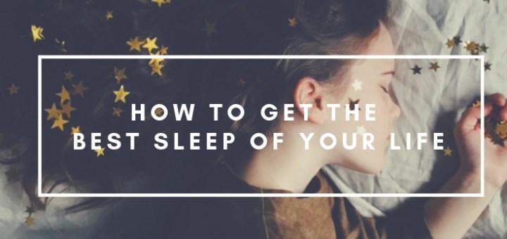sleeping girl with stars in hair, travel sleep tips