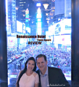 The Educational Tourist Times Square NYC, Renaissance Hotel Times Square New York, www.theeducationaltourist.com