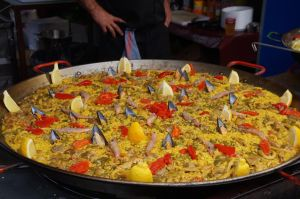 Paella, Child friendly food in Madrid, www.theeducationaltourist.com