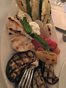 Grilled veggies, Milos, www.theeducationaltourist.com