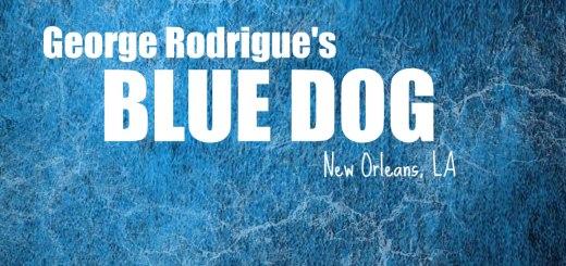 George Rodrigue's blue dog, www.theeducationaltourist.com