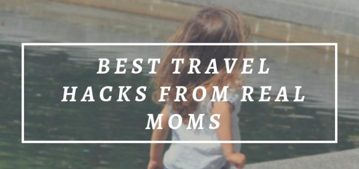 girl running around fountain, travel hacks from moms