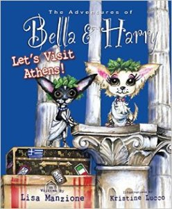 Let's Visit Athens! Adventures of Bella and Harry by Lisa Manzione, Kids' Books set in Greece, www.theeducationaltourist.com