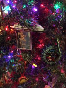 ornaments on Christmas tree, souvenirs, www.theeducationaltourist.com
