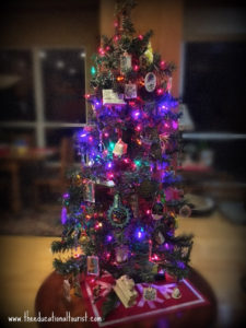 Small decorated Christmas tree, souvenirs, www.theeducationaltourist.com