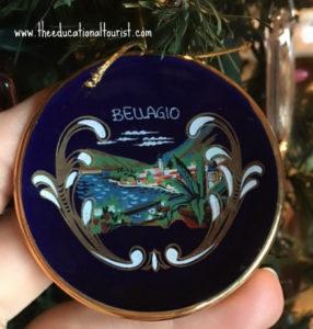 Tiny ceramic plate from Belagio, souvenirs, www.theeducationaltourist.com