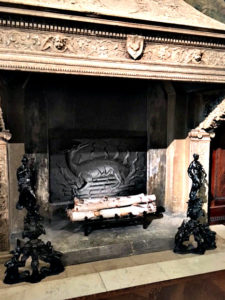 fireplace in Morgan Library, Morgan Library, NYC - Visit with KIDS, www.theeducationaltourist.com
