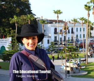 The Educational Tourist wearing hat in Tangier, Morocco, Baseball Caps - Good Traveling Hat? www.theeducationaltourist.com