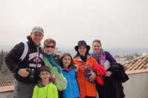 The Educational Tourist and group in Spain