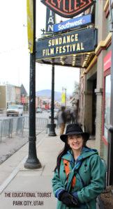 The Educational Tourist at Sundance Film Festival in Park City, Utah