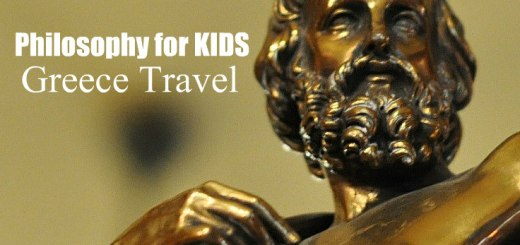 Bronze bust of Plato Philosophy for KIDS Greece travel, www.theeducationaltourist.com