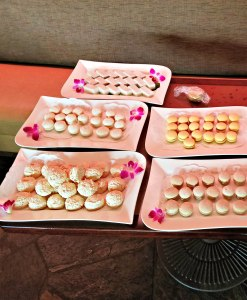 plates of Macaroons