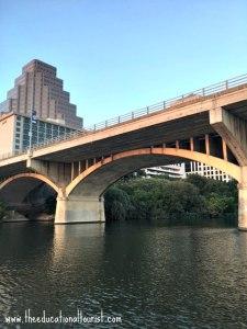 Congress street bridge in Austin, Texas