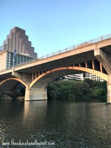 Congress street bridge in Austin, Texas