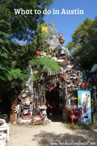 What to do in Austin, Tx Cathedral of Junk