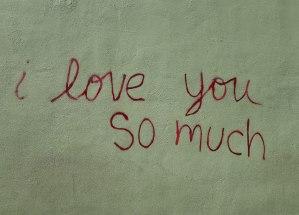 Austin mural, I love you so much austin texas