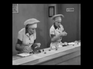 I love Lucy episode of Job Switching photo from myway
