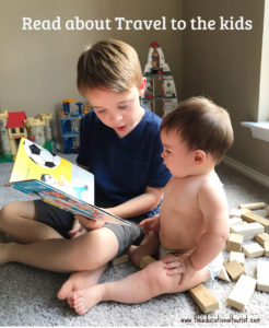 kids reading travel books for kids