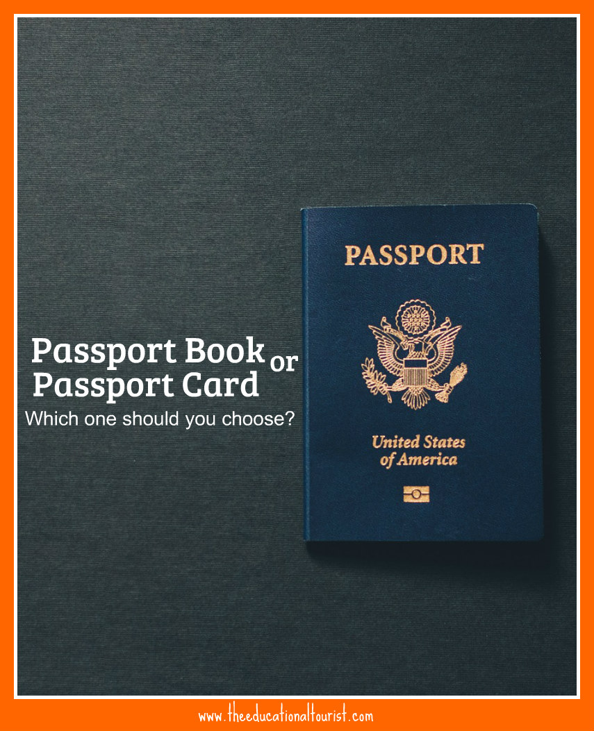 Passport book vs card choose the right one the educational tourist ccuart Images