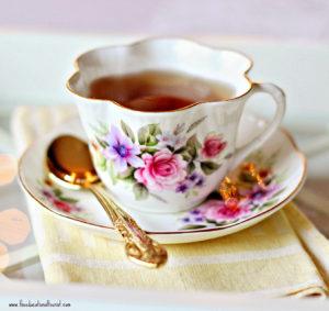 English tea beautiful cup