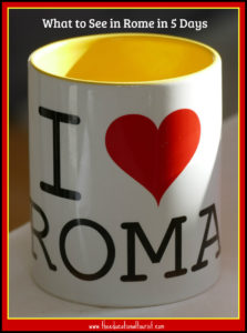 I heart Rome, what to see in Rome in 5 days