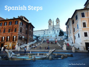 spanish steps fountain in Rome