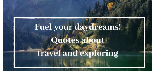 mountain scene, exploration quotes