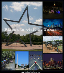 Texas Places to Visit   The Educational Tourist Texas Places to Visit