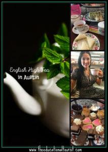 English High Tea in Austin
