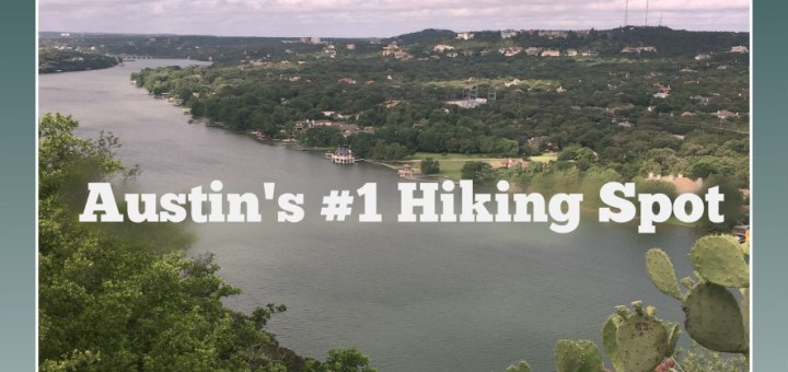 view of Colorado River from Mount Bonnell