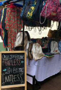 handicrafts at usaquen market