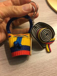 keychains souvenirs usaquen market
