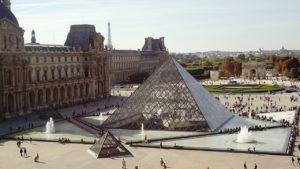 Louvre glass pyramid, louvre pyramid