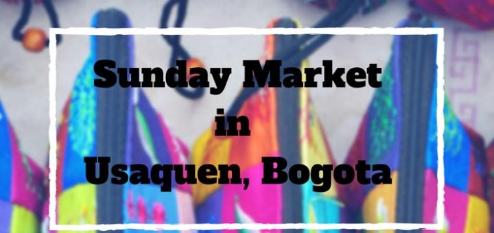 usaquen market Bogota, colombia