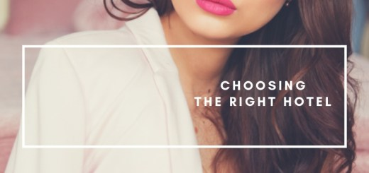 woman in hotel room, choosing the right hotel