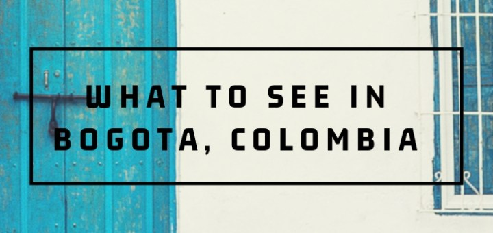 door in Colombia, what to see in bogota