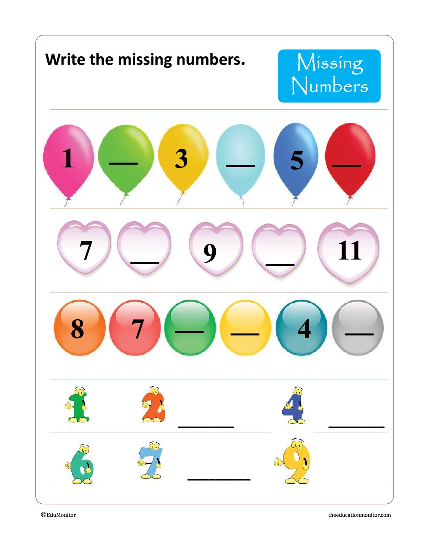 Writing Numbers Worksheets Amp Printables