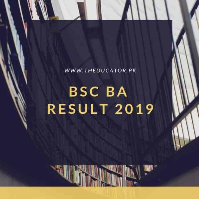 ba bsc result