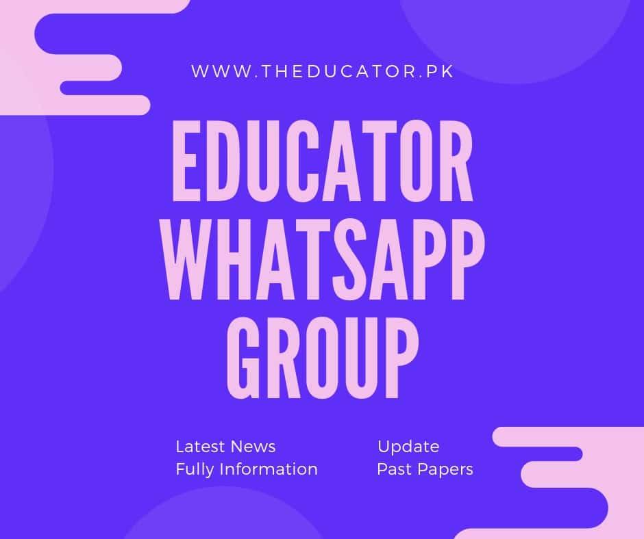 Educator Preparation Whatsapp Group[Update]