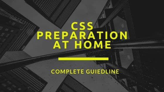 css preparation schedule