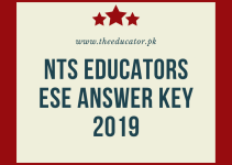 nts answer key