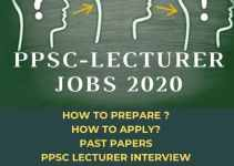 PPSC College Jobs 2020