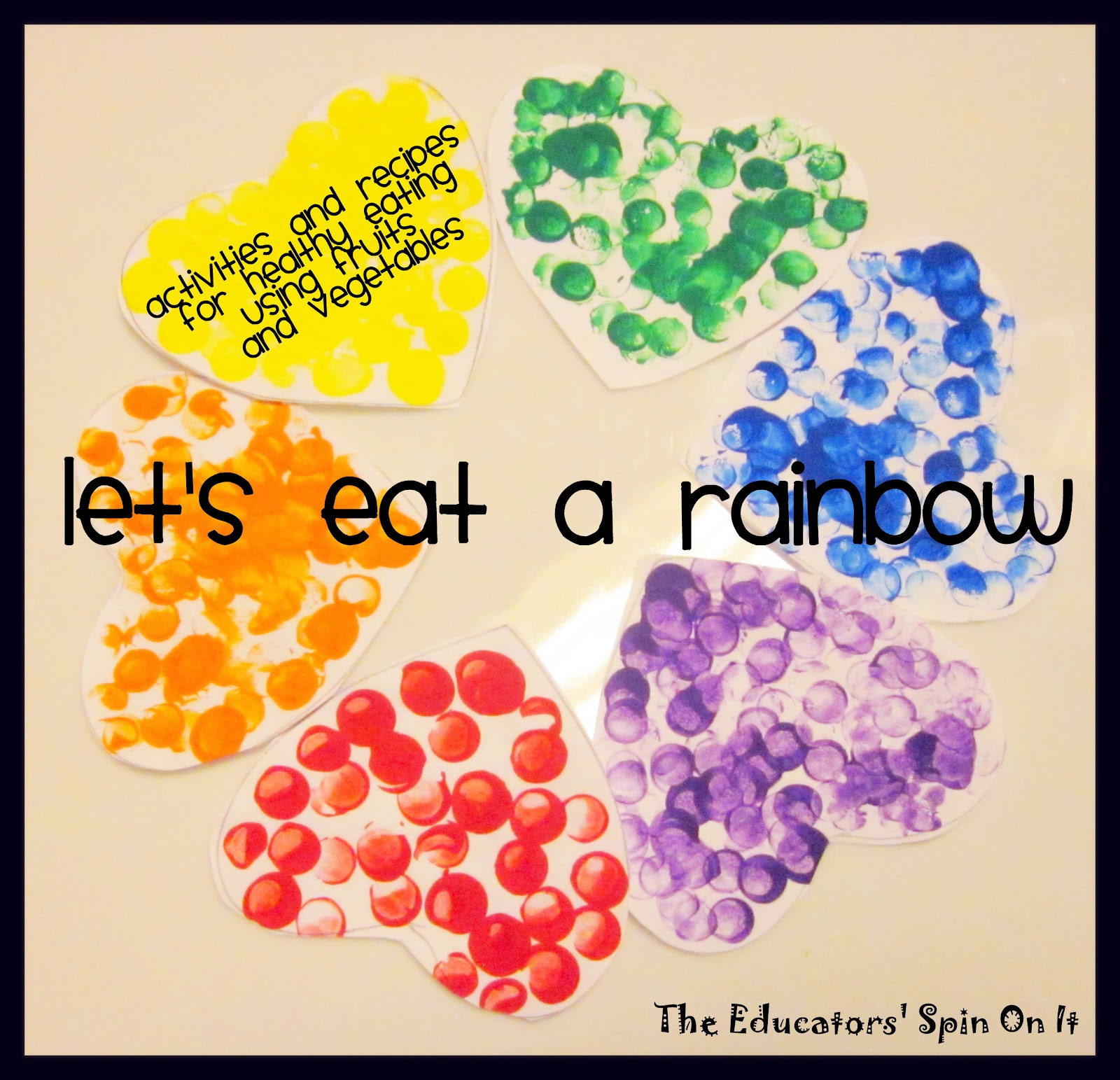 Little Hands That Cook With Books Let S Eat A Rainbow