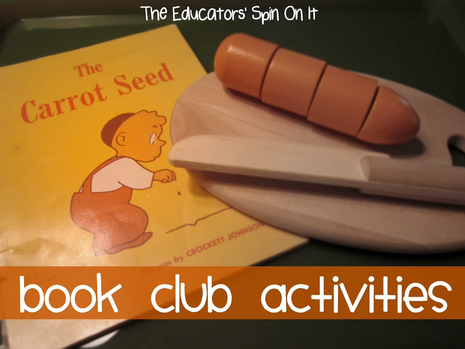 The Carrot Seed Activities